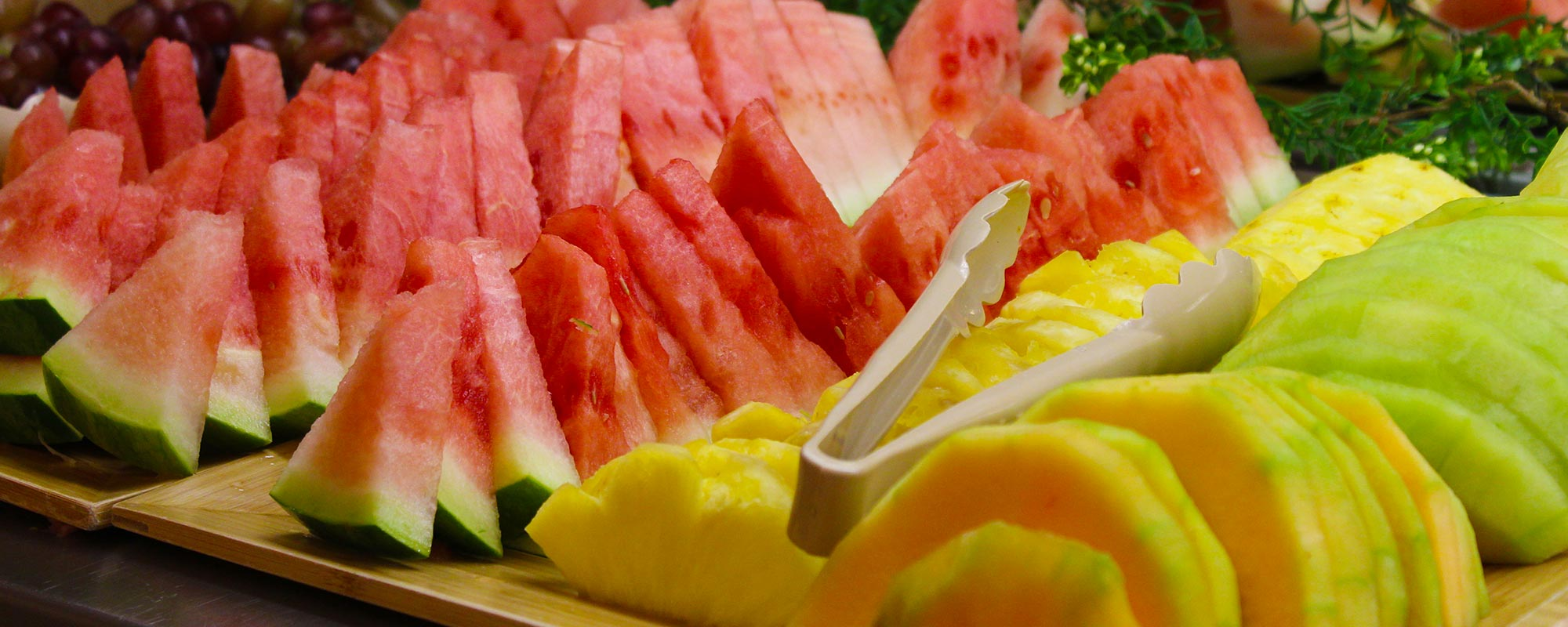 Watermelon, Pineapple and Melon Slices
